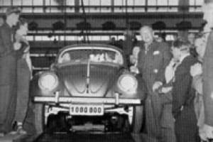 8. august 1955 hadde Volkswagen produsert én million eksemplarer av bilen.