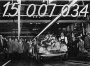 En helt spesiell milepæl ble nådd den 17. februar 1972, da «Käfer» nr. 15.007.034 ble produsert. Nå hadde folkevognbobla passert Fords T-modell (1908–1927), som til da hadde vært historiens mest solgte personbilmodell.
