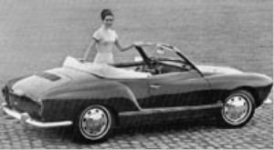 VW Karmann Ghia Cabriolet