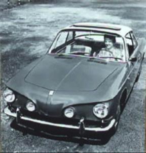VW Karmann Ghia Type 3 fra 1965