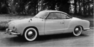 VW Karmann Ghia Coupé fra 1955