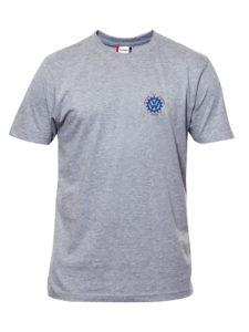 VVW T-skjorte herre, Gråmelert