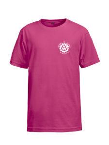VVW T-skjorte Barn, Rosa