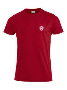 VVW T-skjorte herre, Rød