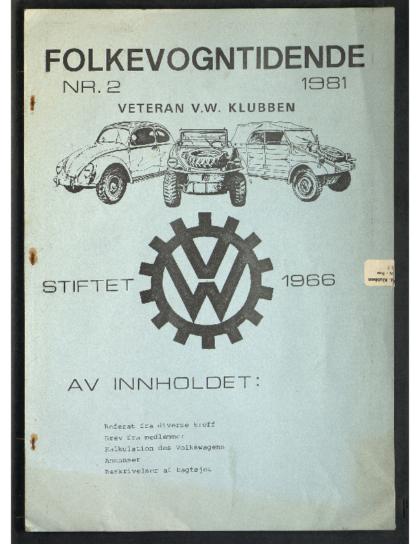 1981 Folkevogn Tidende 2