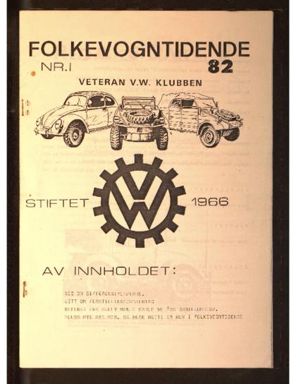 1982 Folkevogn Tidende 1