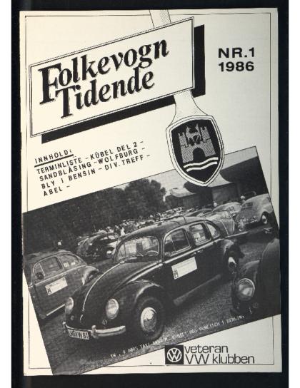 1986 Folkevogn Tidende 1
