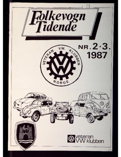 1987 Folkevogn Tidende 2 og 3