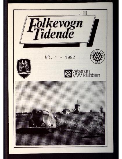 1992 Folkevogn Tidende 1