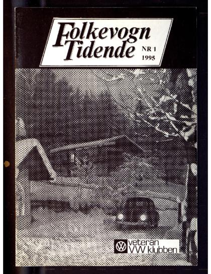 1995 Folkevogn Tidende 1
