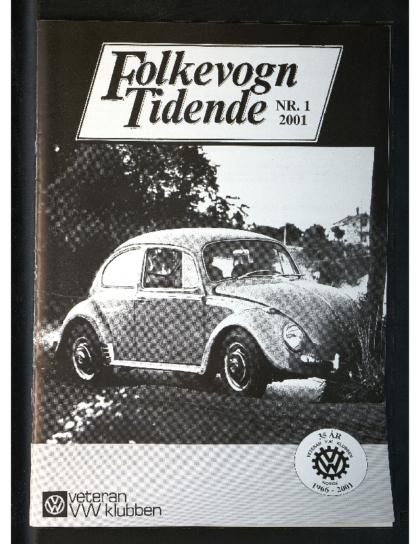 2001 Folkevogn Tidende 1