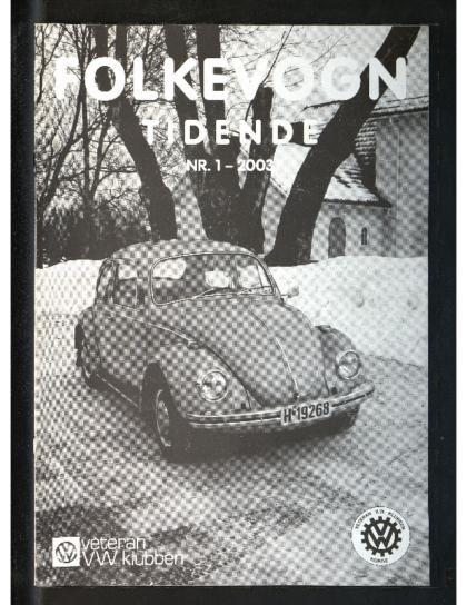 2003 Folkevogn Tidende 1