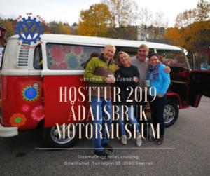 Høsttur 2019 @ Ådalsbruk Motormuseum | Hedmark | Norge